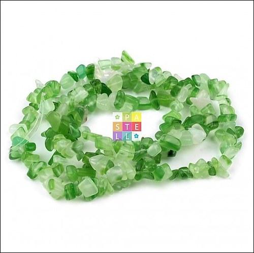 (0461) Fluorit zelený, 10 cm - cca 25 ks