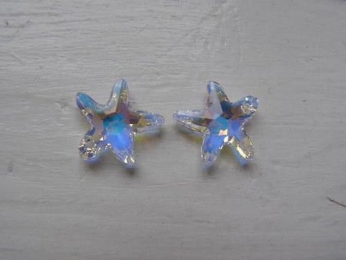Swarovski Mořská hvězda 16 mm - Crystal AB skladem