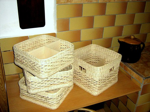 Koše-šuplík i s přepážkami