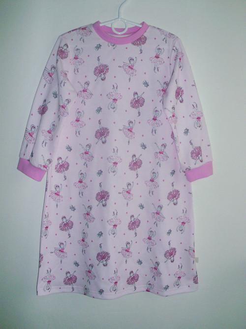 Noční košilka s dlouhým rukávem v.110