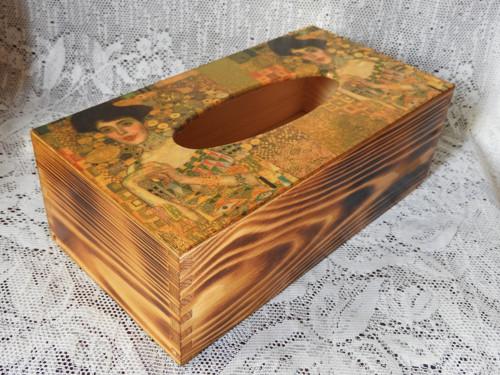 G.Klimt - Adele - krabička na kapesníky