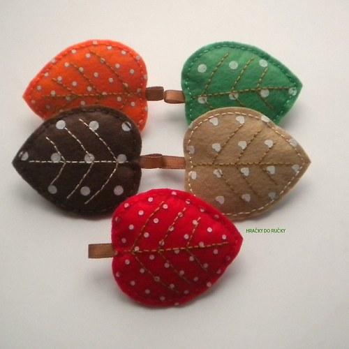 Barevný podzim - červený list