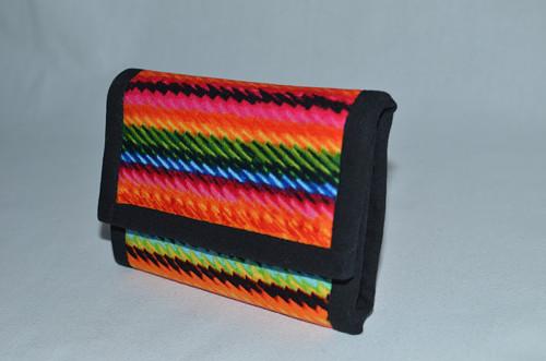 Peněženka - barevné provázky II.