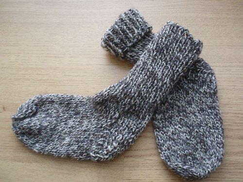 Dětské ponožky ze 100% ovčí vlny