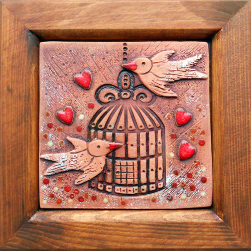 Klícka s ptáčky I.