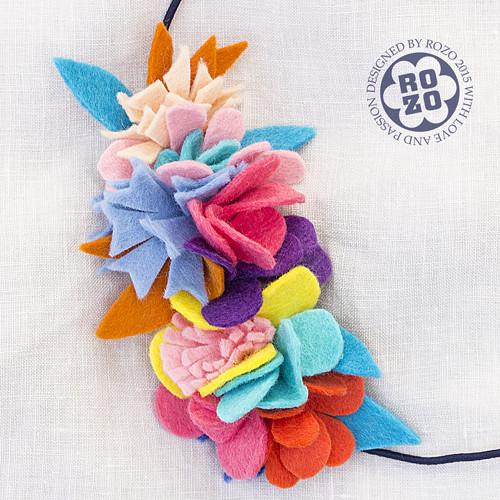 75963d864f4 květinová čelenka No.1    luční kvítí      Zboží prodejce rozo