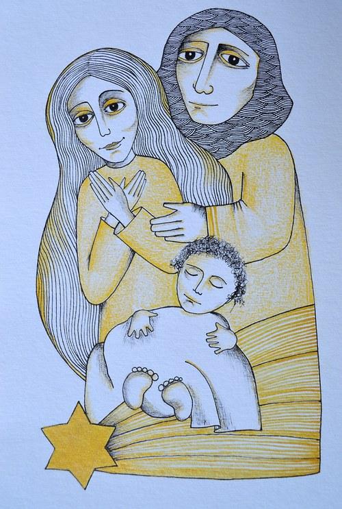 Betlémské dítě - obrázek