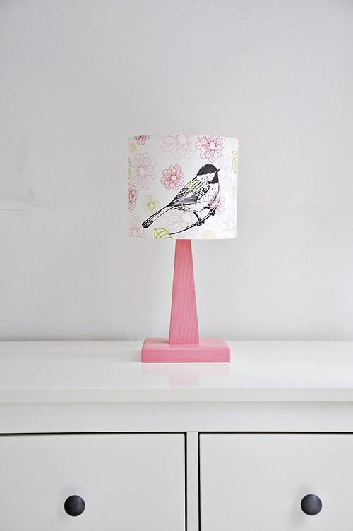 Stínítko dětské Sýkorka 20 cm - stolní/stropní