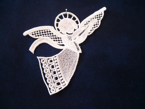 Vánoční ozdoba andělíček 46605