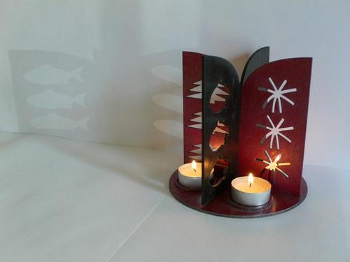 Vánoční svícen - sleva z 499,-