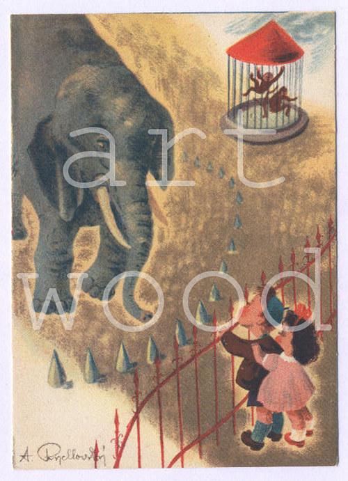 V ZOO - pohlednice č.1091