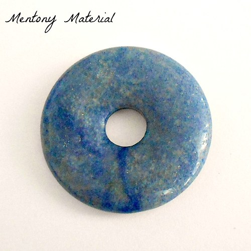 Aventurín modrý donut