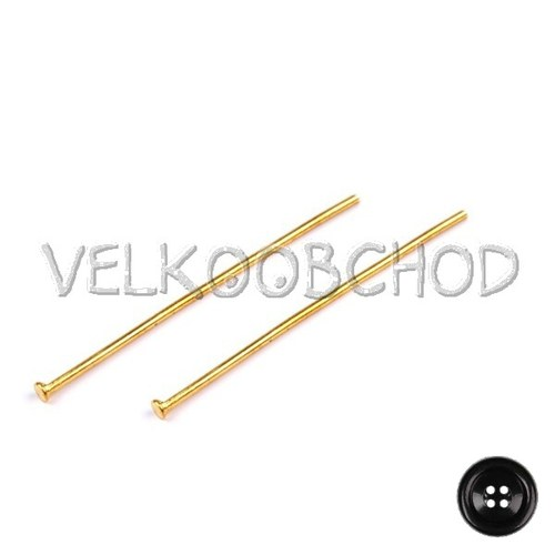 Ketlovací nýty 40 mm (50 ks) - zlato