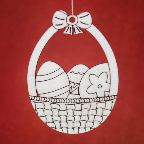 Velikonoční vajíčko - košík