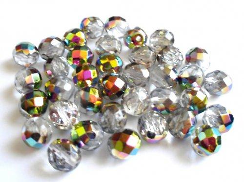 Broušená kulička krystal vitrail 10mm