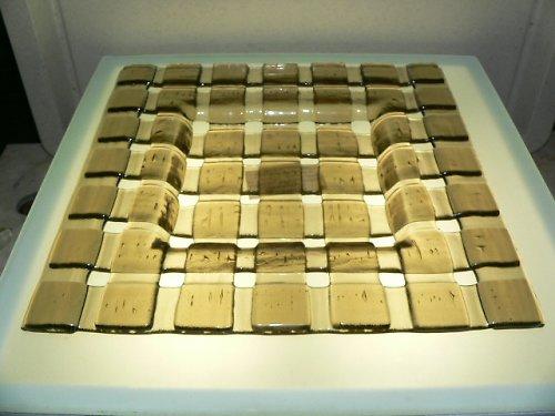mísa z pásků - 24 x 24