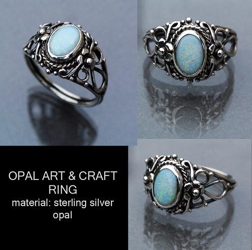 Opal Art & Craft ring