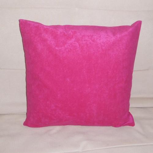 Povlak na polštářek - jednobarevný růžový