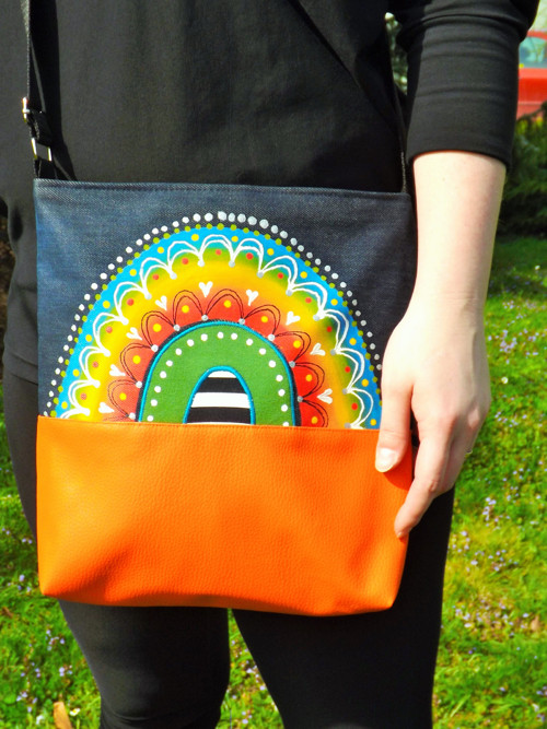 Střední taška s mandalkou