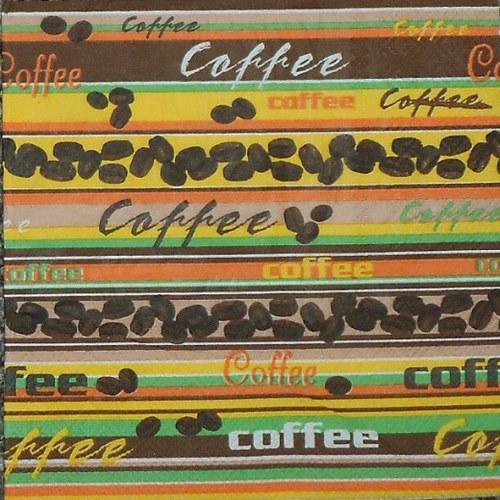 Barevné proužky Coffee