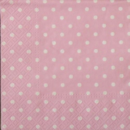 Puntíkovaný růžový