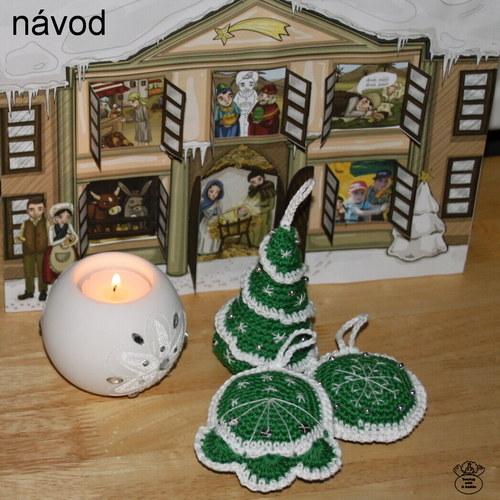 Vánoční ozdoby_návod