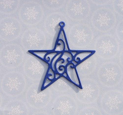 Hvězda filigránová (velká)