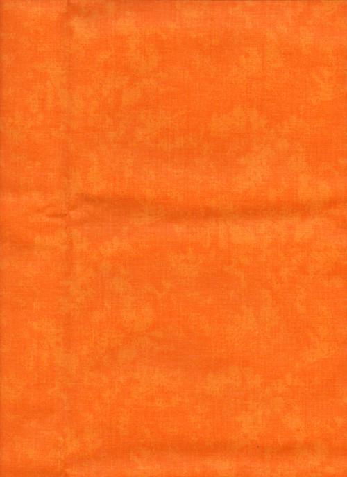 Látka jednobarevná, oranžový mramor
