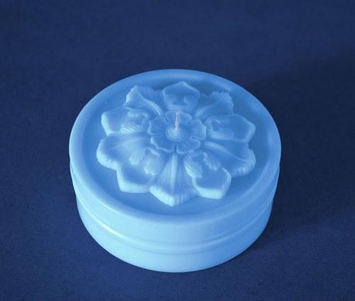 Forma na svíčky Květ válec - průměr 10cm