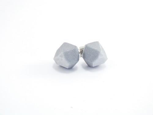 Náušnice krystal silver