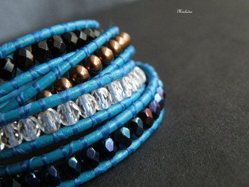 Wrap - Turquoise & Cooper
