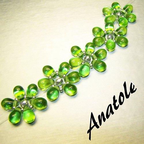 Zelený náramek