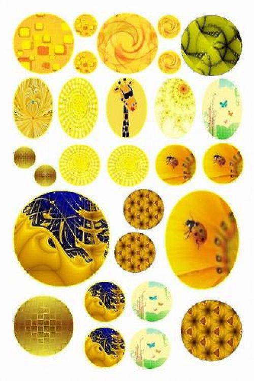 Žlutá (vzor 19)