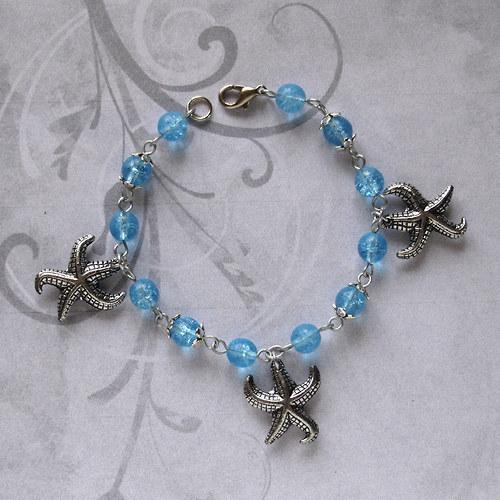 Náramek s mořskými hvězdicemi
