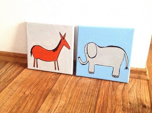 Koník a slonik