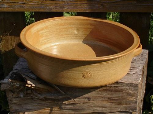Zapékací talíř-kameninový pekáč
