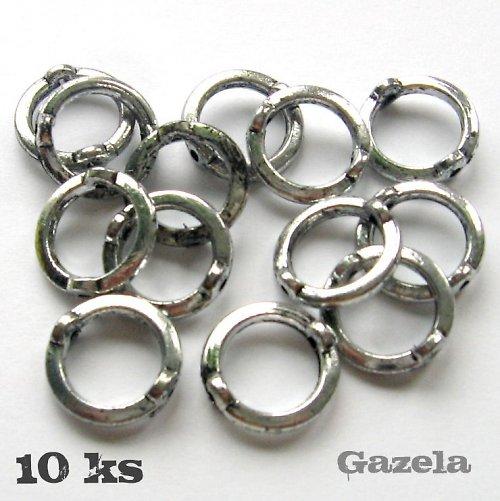 Ozdobné kroužky  - 10 ks