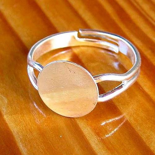 Prsten Americký 10mm - 2ks - Stříbrný
