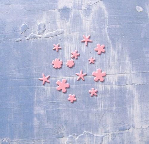 Květinky mini (13 ks)