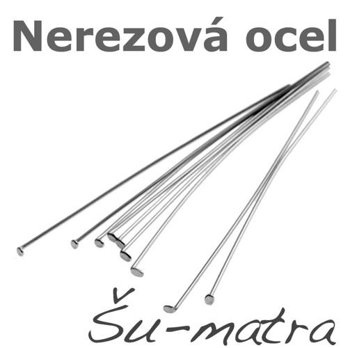 Ketlovací nýty z nerezové oceli, 50x0,6 mm(100ks)