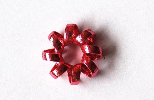 Hrubé kolečko 7x20mm - růžové