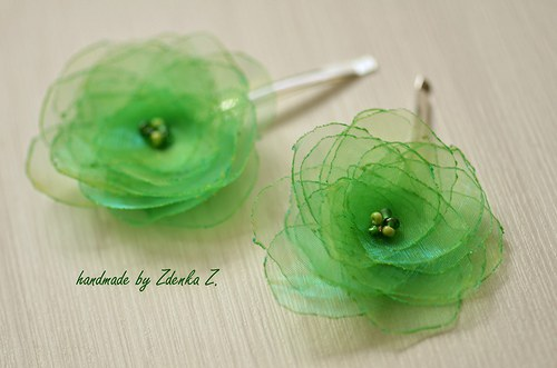 Zelené sponky