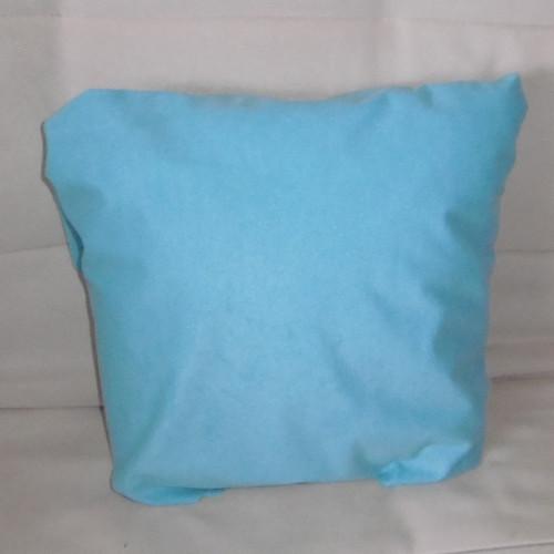 Povlak na polštářek - jednobarevný tyrkys