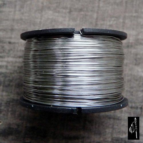 Měkký nerezový drát 0,7, cívka 17 m