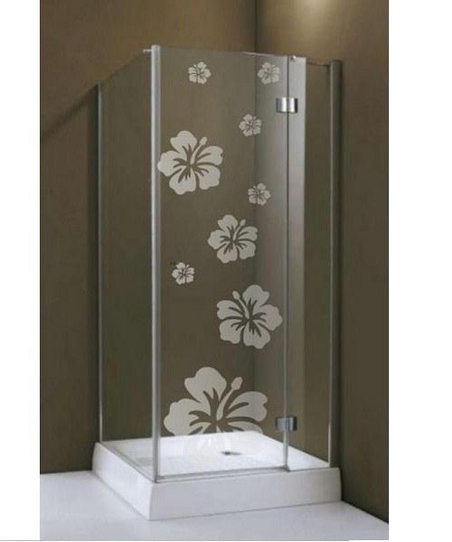 (072g) Nálepka na sprchovací kút
