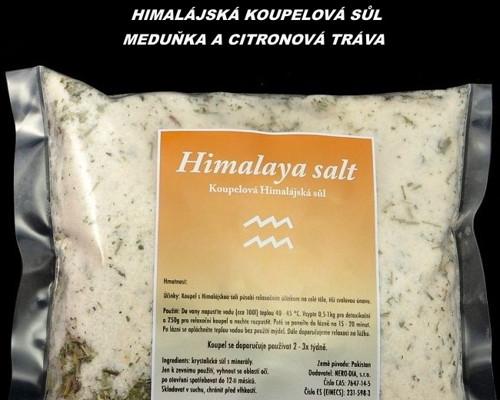 Himalájská sůl do koupele 1000g