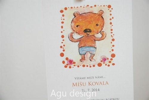 Medvídě - oznámení o narození