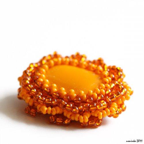 Pomerančová brož - VÝPRODEJ