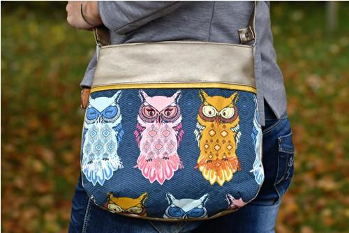 Ručně šitá originální kabelka