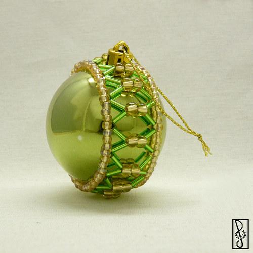 Vánoční koule zelená